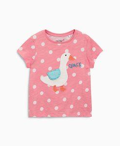 Pink Spotty T-Shirt