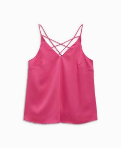 Woven Pink Cami