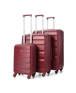 Wine Hard-Shell Suitcases