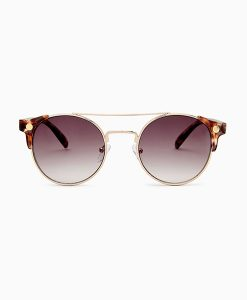 Preppy Corner Detail Sunglasses