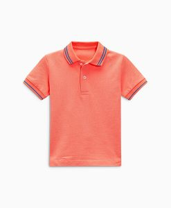 Coral Polo Shirt