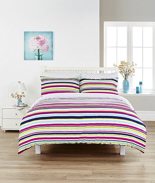 Kingsley Soho Stripe Duvet Set