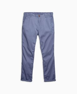Blue Laundered Chinos