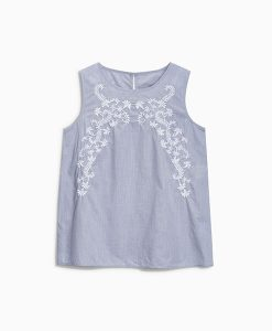 Embroidered Cami Top