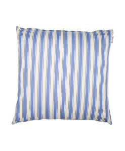 Blue stripe cushion