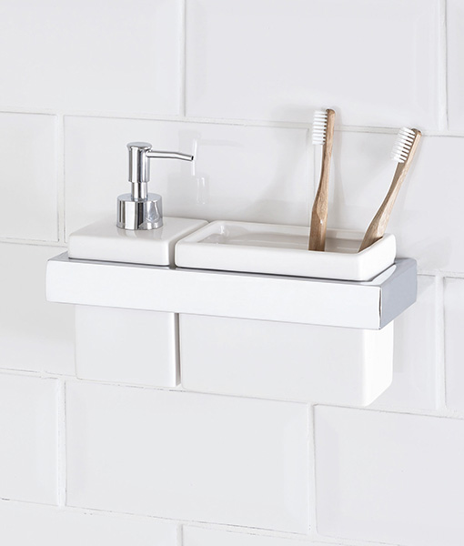 Toothbrush Holder And Soap Dispenser Home Choice Leading