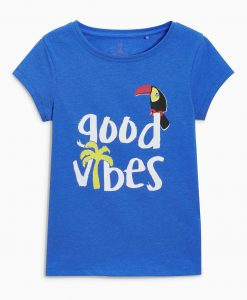 Girls blue t-shirt