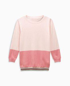 Blush Crew Neck Sweater