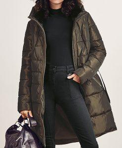 Cosmic Long Brown Coat