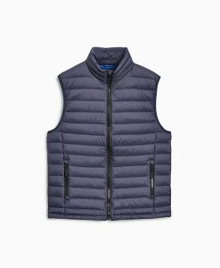 Navy Funnel Gilet
