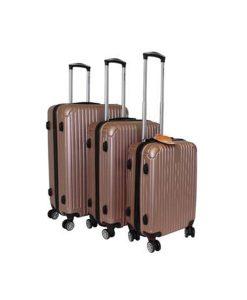 Rose Gold Hard-Shell Suitcase