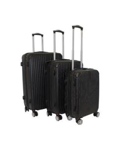 Black Hard-Shell Suitcase