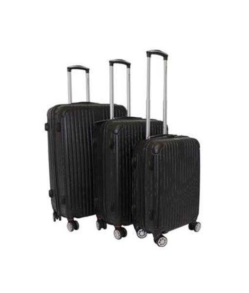 Black Hard-Shell Suitcase