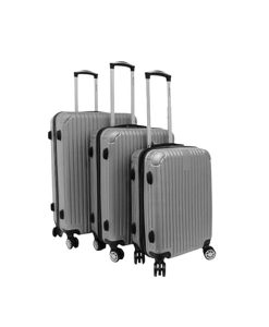 Silver Hard-Shell Suitcase