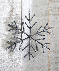 Rope Snowflake Decoration