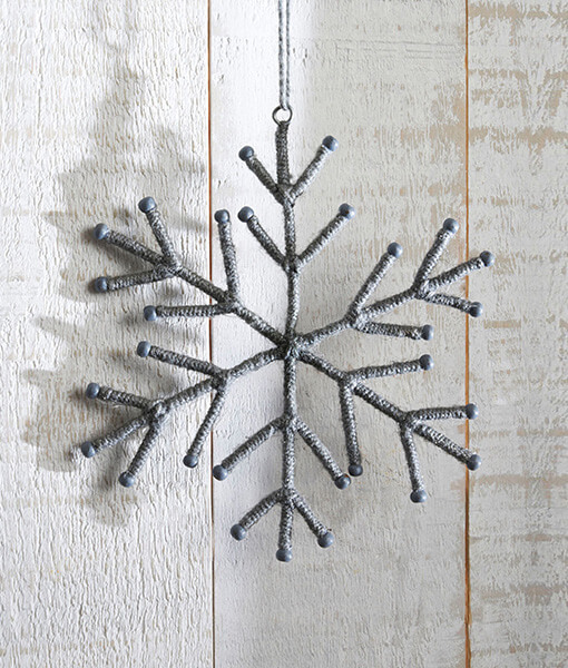 Rope Snowflake Decoration