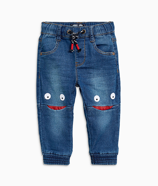 Smiley Knees Jeans