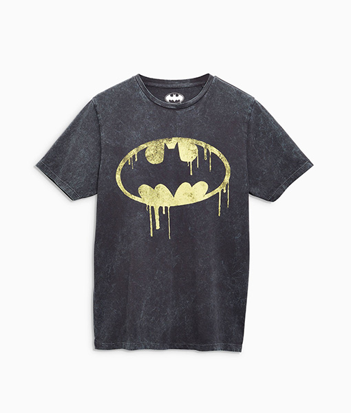 Charcoal Batman T-Shirt