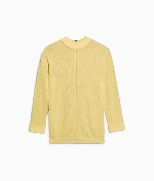 Oversized Mesh Sweater
