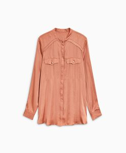 Copper Satin Shirt