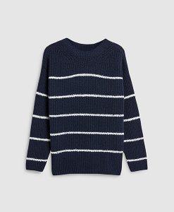 Stripe Navy Sweater
