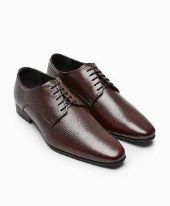 Men's brown Derby shoe