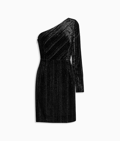 Sparkle One Shoulder Dress