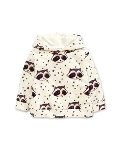 Raccoon Fleece Hoodie