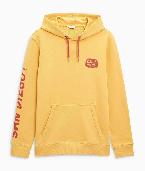 Men's Yellow Hoodie