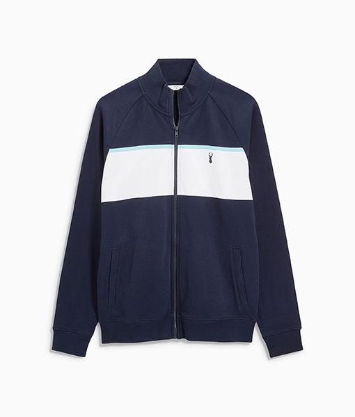 Navy Stripe Jacket
