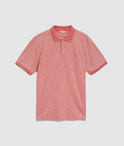 Men's Coral Fine Polo