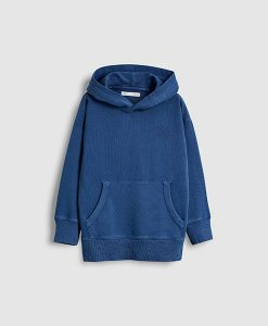 Washed Blue Hoody