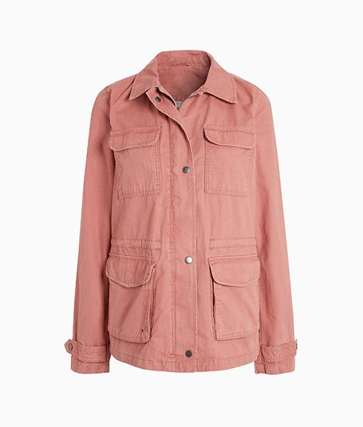 Pink Utility Jacket