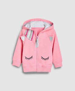 Girl's unicorn hoodie