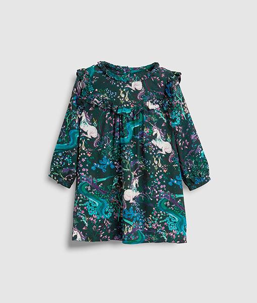 Girl's unicorn dress