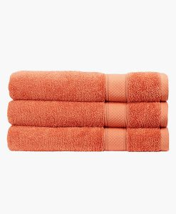 Christy Bath Towel in Terracotta
