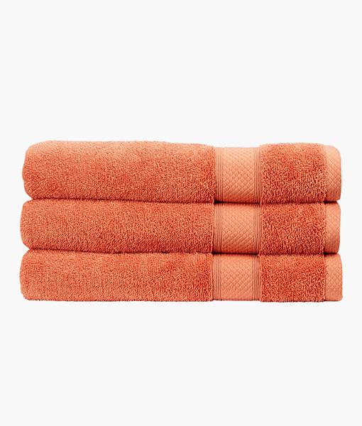 Christy Bath Towel in Terracotta