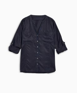 Tencel Shirt Navy