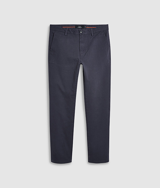 Men's navy chino