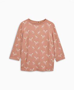 Stork print top