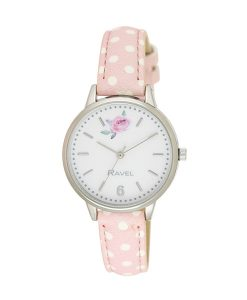 Ravel Pink Spot Watch
