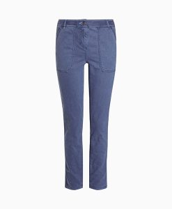 Pocket Straight Leg Trousers