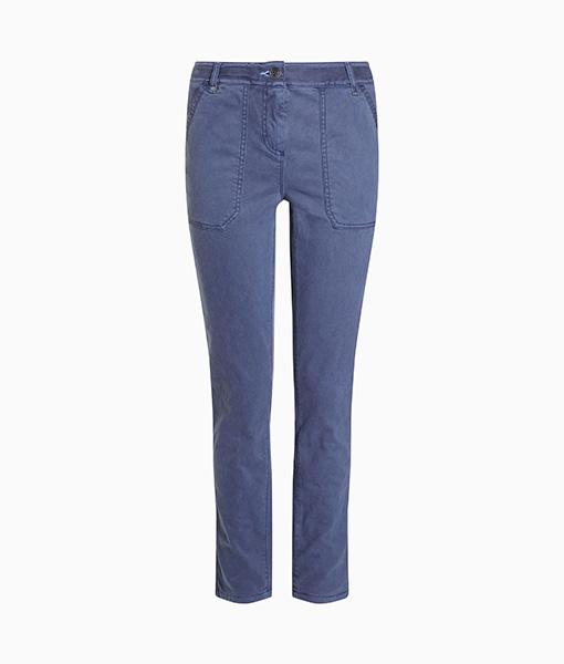 Pocket Straight Leg Trousers