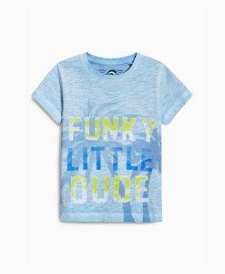 Funky dude blue tee