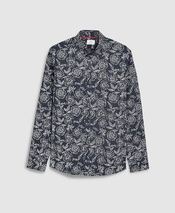 Mono Floral Shirt