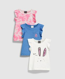 Frill Bunny Tops - 3 Pack