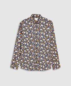Ochre Floral Shirt