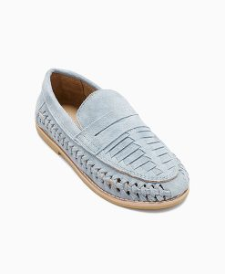 Blue Woven Loafer