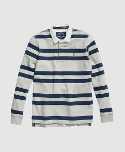 Grey Stripe Rugby Shirt