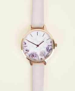 Floral Face Watch